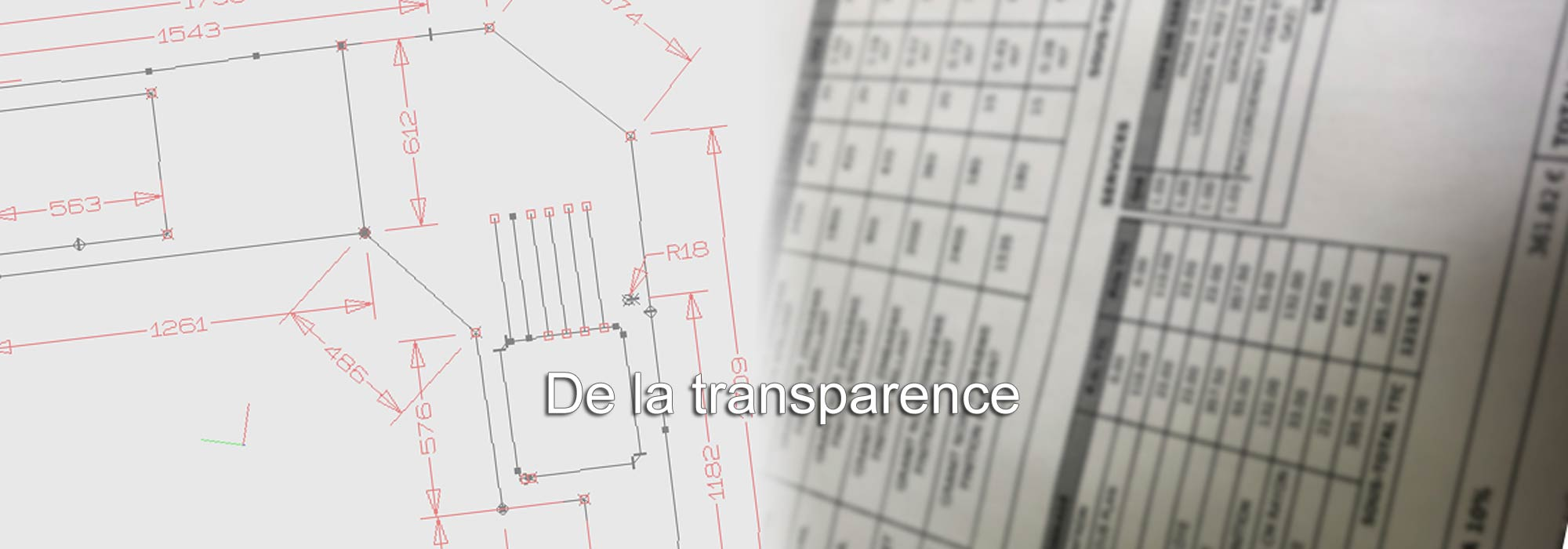 De la transparence